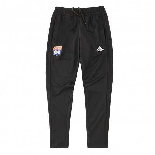 Pantalon Entrainement adidas Olympique Lyonnais Junior Noir 2018/2019 - Taille - 13-14A