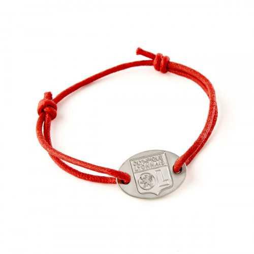 Bracelet cordon OL - Couleur - NOIR