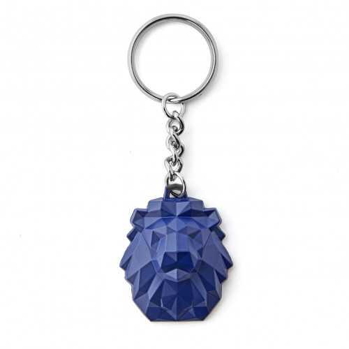 Porte-clés 3D Lion Pop Bleu - Taille - Unique