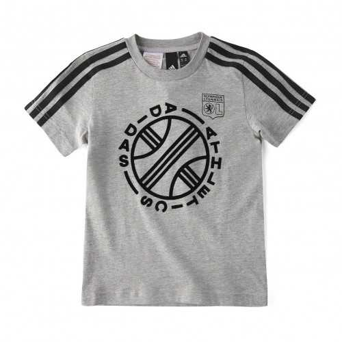 T-Shirt Junior ID GRAPHIC Gris - Taille - 13-14A