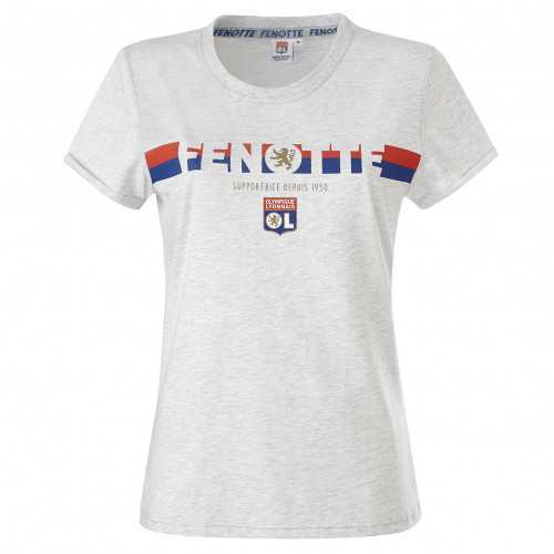 T-Shirt Gris Fenotte Adulte - Taille - XS