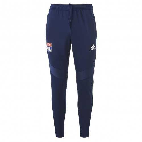 Pantalon d'entrainement Bleu marine Junior OL adidas 19/20 - Taille - 7-8A