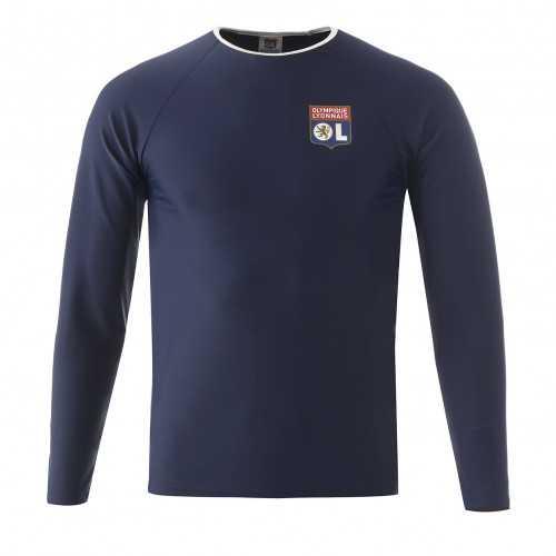 T-shirt anti-UV bleu marine OL Junior - Taille - 7-8A