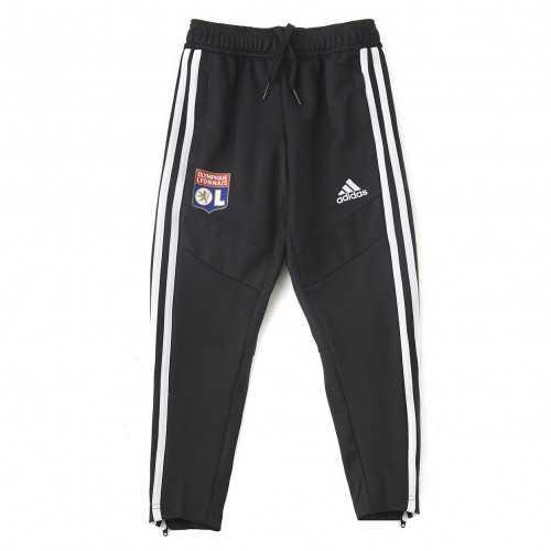Pantalon d'entrainement Noir Junior OL adidas 19/20 - Taille - 13-14A