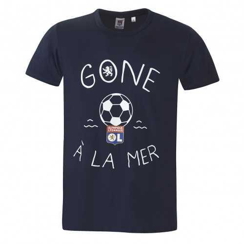 T-shirt Gone à la mer junior bleu - Taille - 7-8A