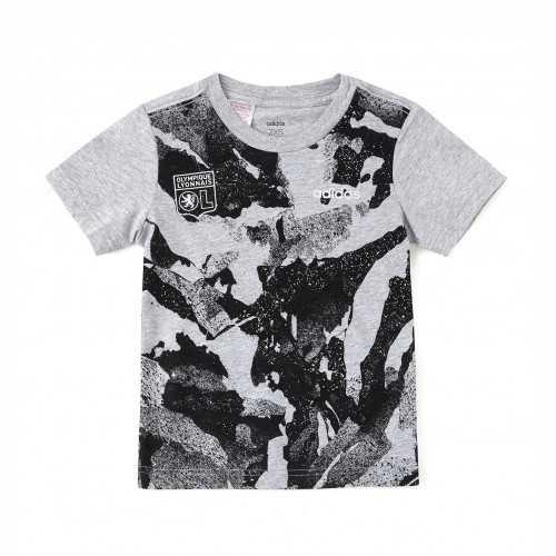 Tee shirt Gris adidas Junior - Taille - 13-14A