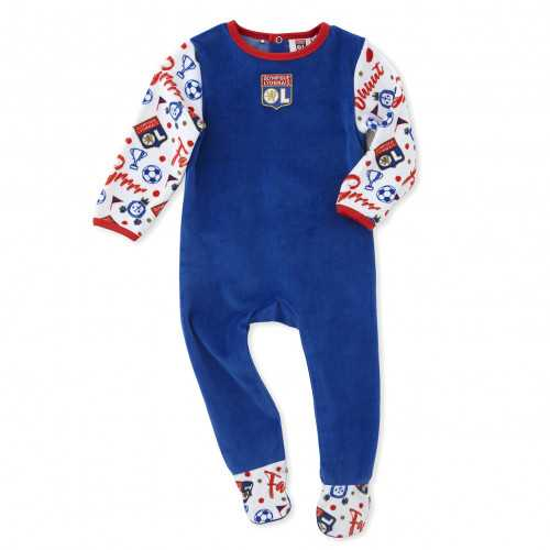 Grenouillère velours Baby But - Taille - 6M