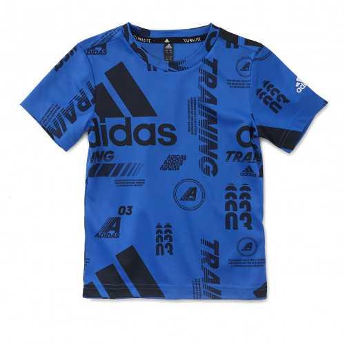 T-shirt adidas bleu junior - Taille - 7-8A
