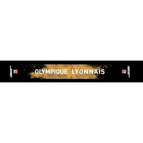 Echarpe Poudre Noire & Or - Unique - Unique